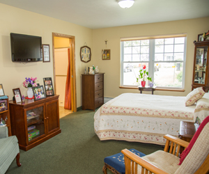 Memory Care living space