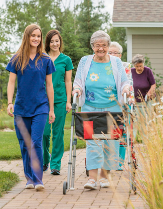 Marquette Michigan assisted living community